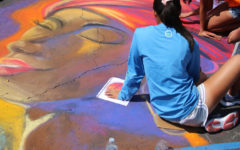 Art Club wins big at Chalk Walk