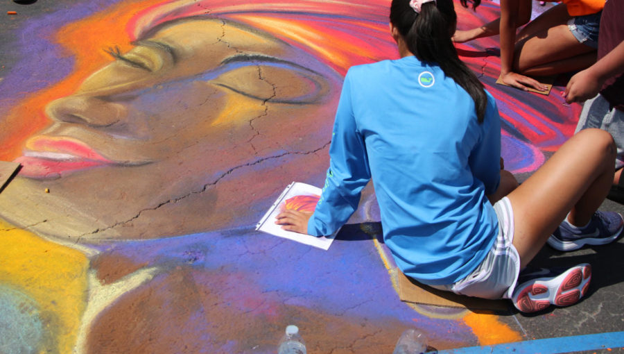 Art+Club+wins+big+at+Chalk+Walk