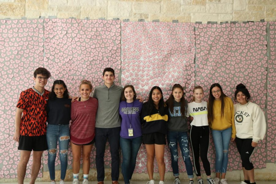 STUCO shows appreciation on Valentine's Day