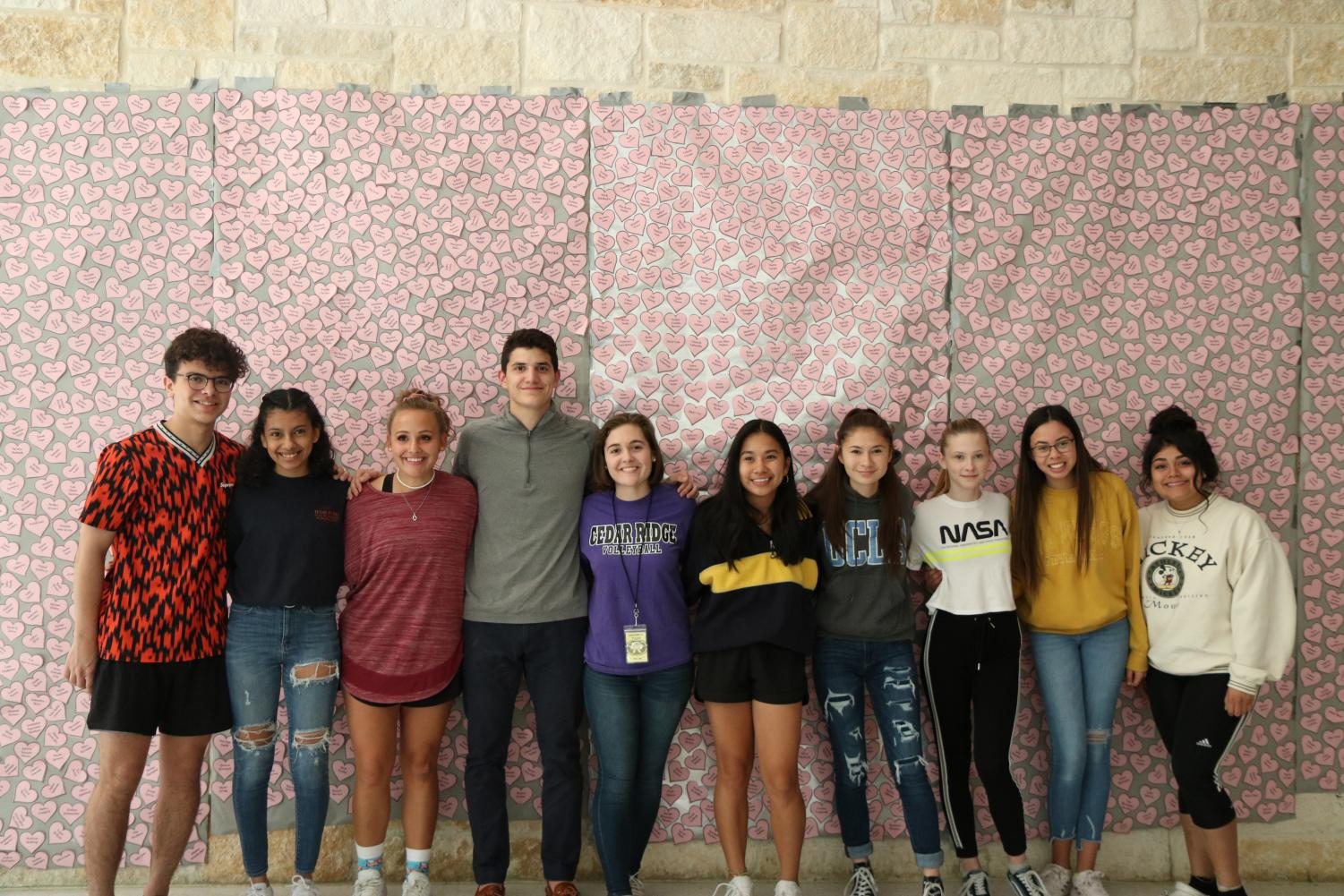 STUCO shows appreciation on Valentine
